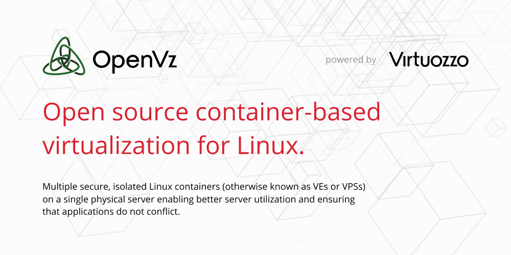 Open source container-based virtualization for Linux